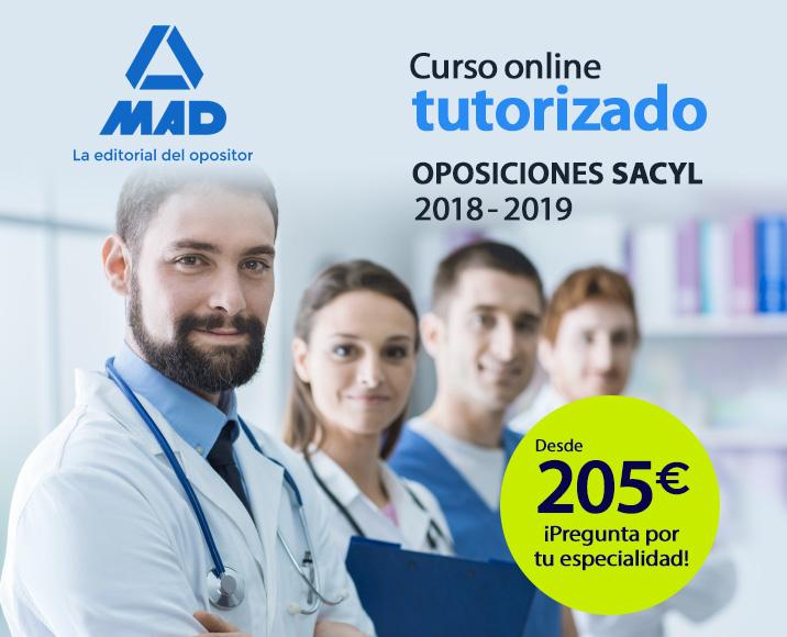 Curso online tutorizado - Oposiciones SACYL 2019
